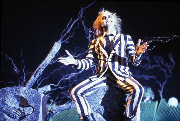 Beetlejuice, el Súper Fantasma (Subtitulada) - Tim Burton